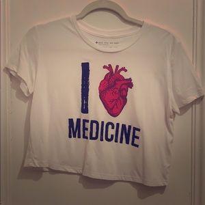 i love medicine tee